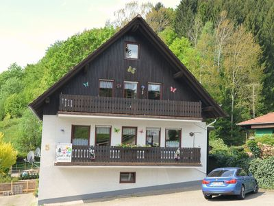 Photo for Bright apartment in the Harz - balcony, terrace, garden, play opportunities,