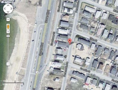 This is our correct location at the end of Tilton & Franklin Streets