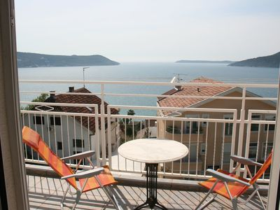 Photo for Luxury Apartment in Herceg Novi Old Town with Stunning Views