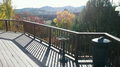 VIEW FROM WRAP AROUND DECK
