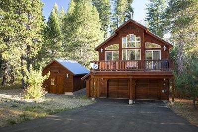 Our Cabin with sunny front deck