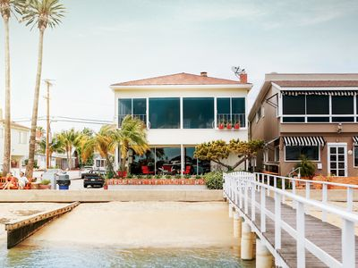 Photo for BEST BALBOA ISLAND BAYFRONT - 2 LIVING ROOMS-DOCK ACCESS- 2 CAR GARAGE-PATIO