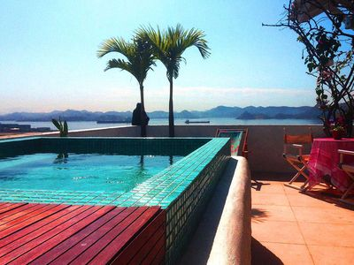 Photo for Lux Rio 12 - Luxury penthouse with pool and balcony, up to 4 guests!