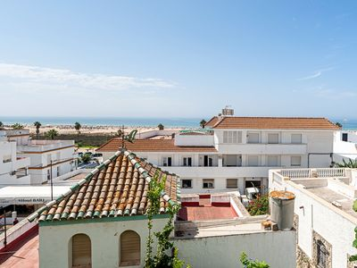 Photo for Central Apartment Casa Poniente on the Beach with Terrace & Wi-Fi