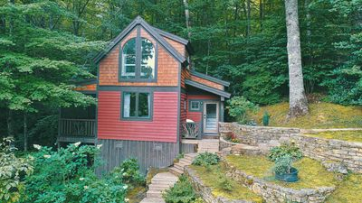 Photo for Cute Well Appointed Cabin, Lake Glenville Access, Close to Cashiers,Pet Friendly