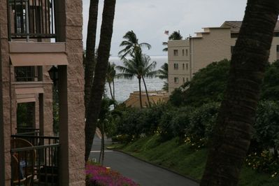 VIEW FROM THE LANAI (zoomed in slightly)