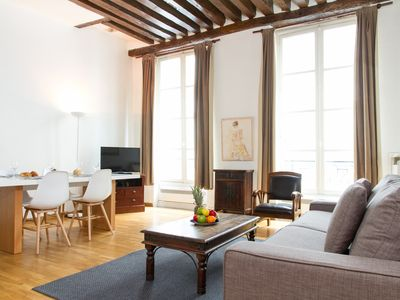 Photo for IN THE HEART OF PARIS - LOVELY LEFT BANK FLAT STEPS FROM THE SEINE & PONT NEUF!