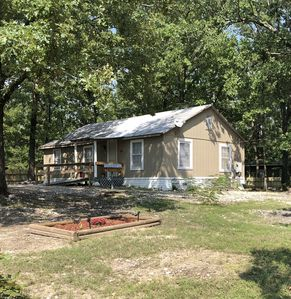Our little Cabin is located just minutes from the North end of Lake Ouachita.