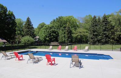 Photo for Heated Pool, Hot Tub, Fire Pit & Large Private Yard - Walk to Town & Beach