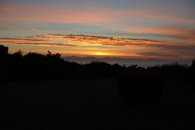 The view from the house - sunrise.