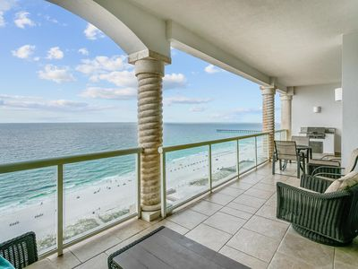 Photo for Amazing Beach Views + FREE Beach Chairs & Umbrella + Heated In/Outdoor Pools