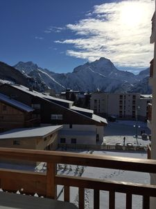 Photo for Large 2 room apartment at the foot of the slopes, beautiful view of the Muzelle, wifi