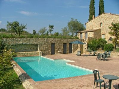 Photo for Nice apartment for 4 people with pool, TV, panoramic view and parking