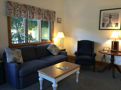 Photo for Downtown Cottage-1 bedroom- full kitchen, free wi-fi, free parking,sleeper sofa