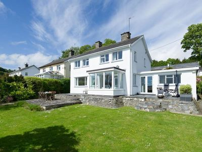 Photo for Detached holiday home with large private garden in Llanebedrog, within walking distance from the sea