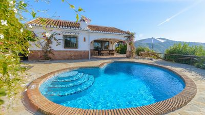 Photo for Andalusian holiday home with beautiful mountain views