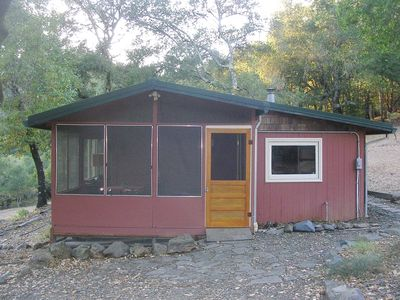 Photo for Secluded Wine Country Hideaway nestled in the oaks of the Mayacama Mountains