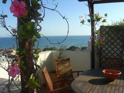 Photo for Penthouse with fantastic terrace and wifi front of the best beach of Marbella.