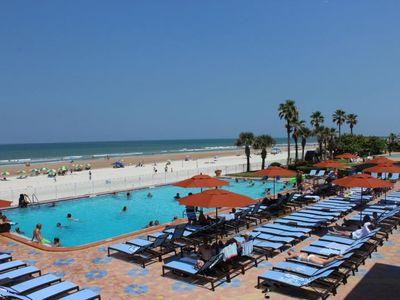 Photo for OCEAN FRONT CLASSIC UNIT FOR 4! POOL, PARKING