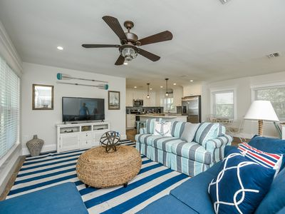 Photo for Palm Tree Paradise B! RENOVATED 3 BR/3B, Steps To Beach