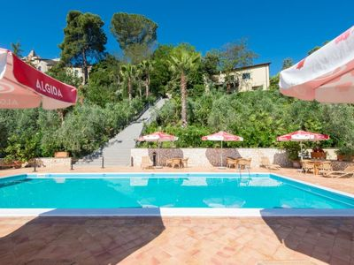 Photo for Collevecchio Apartment, Sleeps 4 with Pool and WiFi