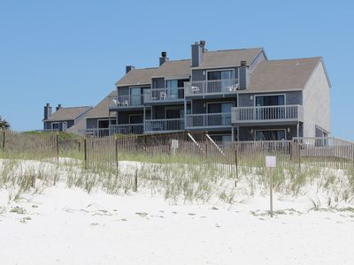 Photo for Barrier Dunes 198 - 3 Bed / 3.5 Bath Gulf Front Townhome in Cape San Blas