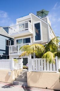 Photo for Family Beach Getaway -Steps from the Beach, Private Rooftop Patio 3Br 2B