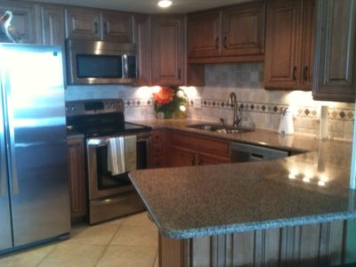 Newly remodeled kitchen with all the upgrades!