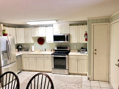 Spacious Kitchen with New Stainless Appliances