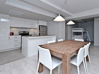 Photo for 2BR Condo Vacation Rental in Beaupré, QC