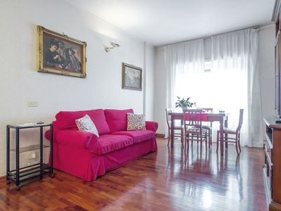 Photo for Bright two-room apartment near Trastevere, LAST MINUTE OFFER, perfect for families