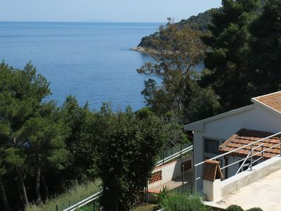 Photo for Fresh Water - Elba - Relaxing holiday overlooking the beautiful sea of Rio Marina
