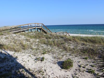 Photo for Beachfront Beauty! Walton Dunes, Free Golf and Activities on Seagrove Beach