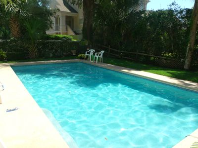 Photo for Beautiful 3rd row on Private Road 2 bd, 2.5 ba House w/Pool