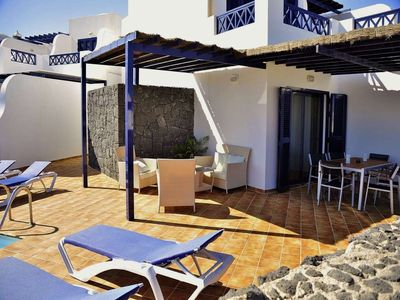 Photo for House in the center of Playa Blanca with Internet, Pool, Garden, Balcony (970203)