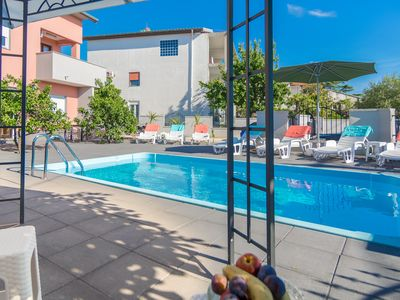 Photo for Katarina Apartments Zadar Apartment 2, outdoor pool, best choice for families