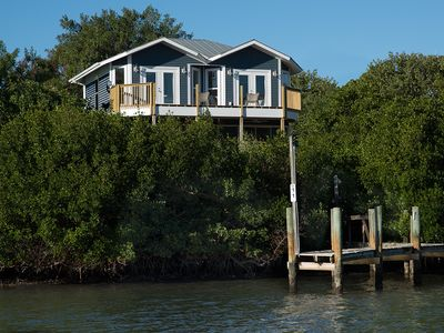 Photo for Little Gasparilla Island Bayfront home. Boater's Dream - Smoke Free