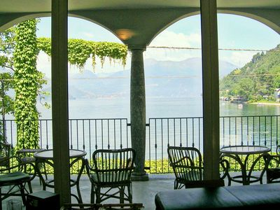Photo for Beautiful villa by Lake Como with access to the beach