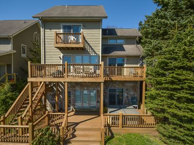 Photo for Appealing 5 Bedroom lakefront home close to all area attractions with hot tub