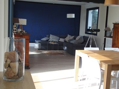 Photo for Facing the sea, wild coast, house for 6 persons on a 2500 m² of land