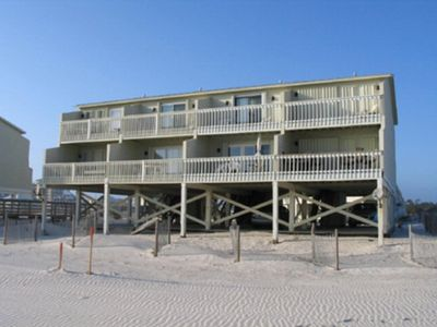 Photo for BEACHFRONT, FAMILY-FRIENDLY & PET FRIENDLY WITH BEAUTIFUL VIEWS FROM DECKS!!