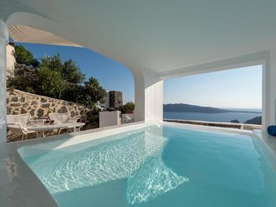 Photo for Holiday house Thira for 6 - 9 persons with 3 bedrooms - Holiday house