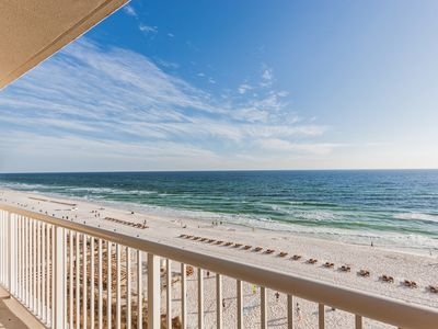 Photo for Bright Waterfront 2BR in Majestic Beach w/ Gulf Views & Resort Amenities