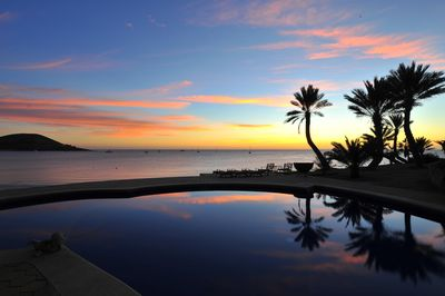 Gorgeous view of the Sea of Cortez from the infinity pool