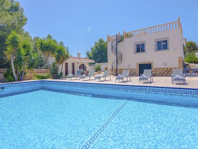 Photo for CONSUELO, large villa for 12 guests, in the nature, in Calpe