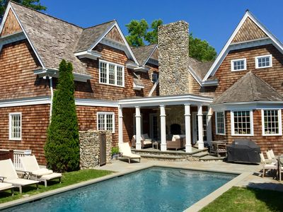 Photo for Luxury steps from East Hampton Village no car needed!
