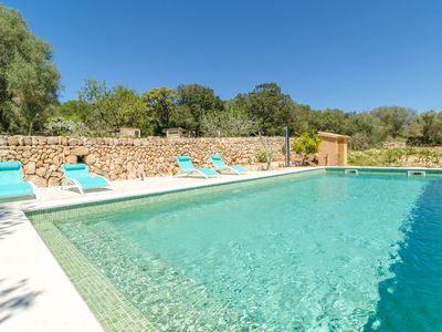 Photo for CAN GALLOT DE PUNXUAT - Villa with private pool in Algaida.