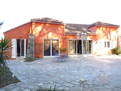 Photo for Villa with large land quiet and close to beaches (sleeps 6)