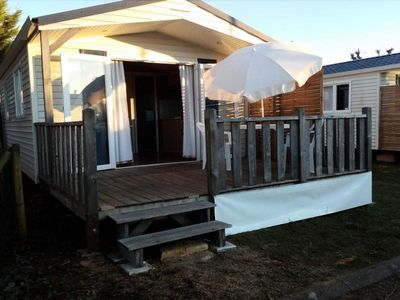 Photo for Camping Les Catalpas *** - Mobile home 2 Rooms 2 Persons