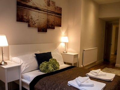 Photo for Three Bedroom Flat in Mayfair, Ground floor, 2 minute  from Piccadilly.Sleeps 8